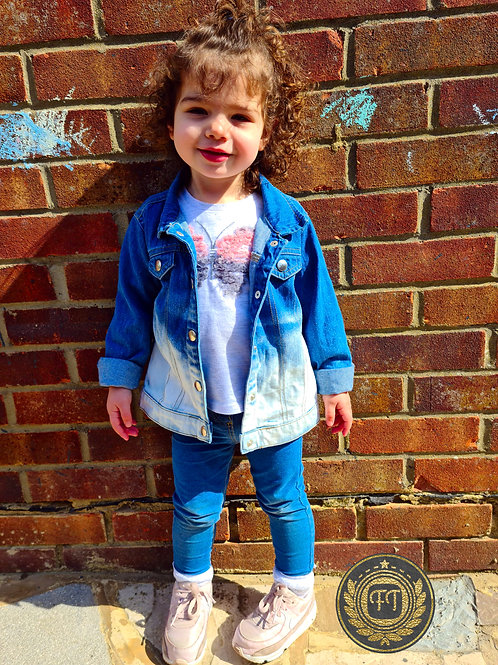 Baby/Toddler - Distressed Denim Jacket