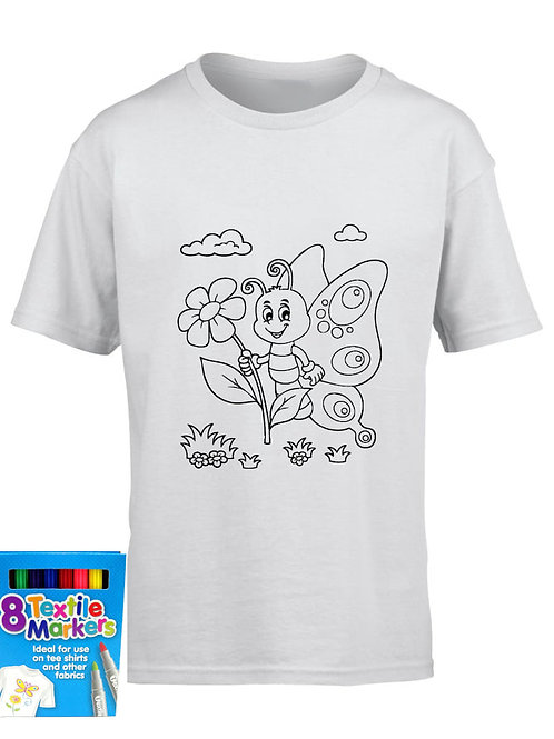 Imagination T- Shirts - Colour your own