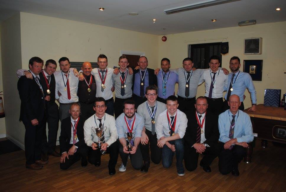 Junior 6 League + Cup Winners 15/16
