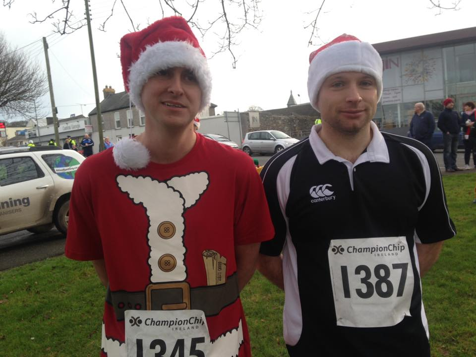 santa's 10k finishers - crossgar