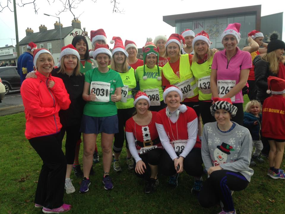 crossgar santa run