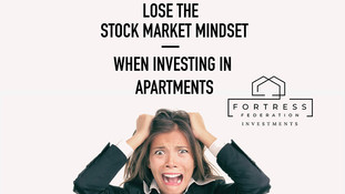 Lose the Stock Market Mindset When Investing in Apartments