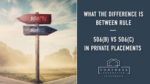 What The Difference is Between Rule 506(b) vs 506(c) in Private Placements