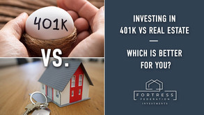 Investing in 401k vs Real Estate -            Which is Better for You?