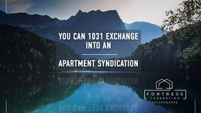You Can 1031 Exchange into an Apartment Syndication