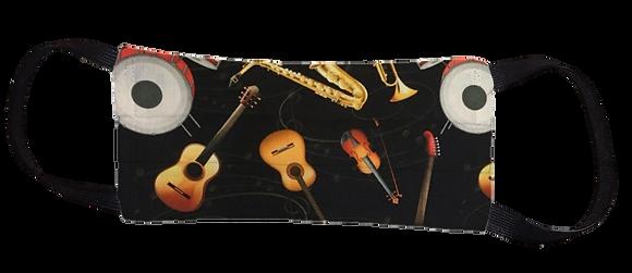 Máscara Cirúrgica - Instrumentos Musicais