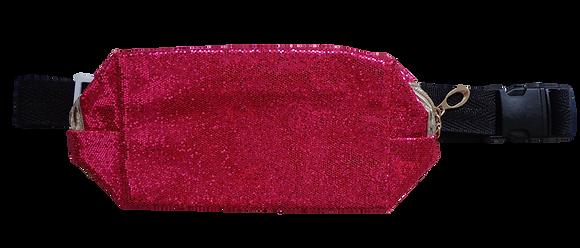 Pochete de Glitter - Rosa