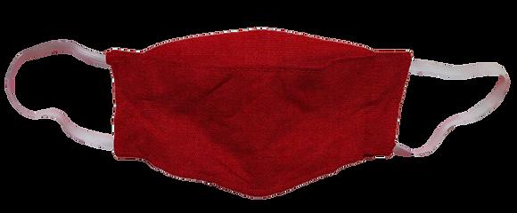 Máscara 3D - Vermelho