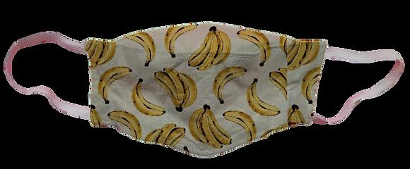 Máscara 3D - Banana Branca