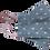 Thumbnail: Máscara 3D - Coração Azul