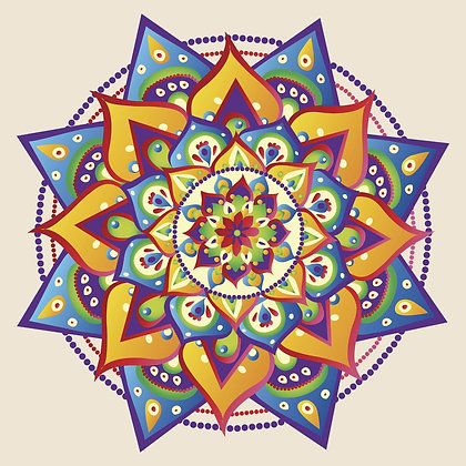 Bolsa Mandala - Cinza
