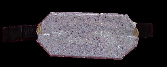 Pochete de Glitter - Prata