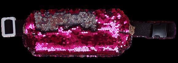 Pochete Extravaganza - Rosa / Prata
