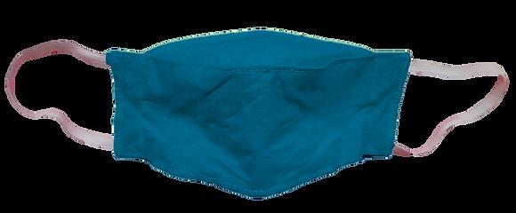 Máscara 3D - Azul Turquesa