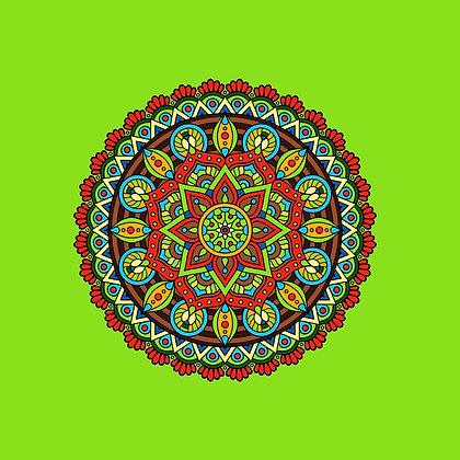 Bolsa Mandala - Verde