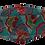 Thumbnail: Máscara 3D - Arabesco Colorido
