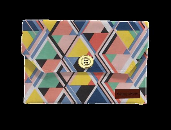 Porta Máscaras P - Geométrico Colorido