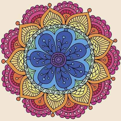 Bolsa Mandala - Cinza 2