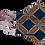 Thumbnail: Máscara 3D - Geométrico Laranja