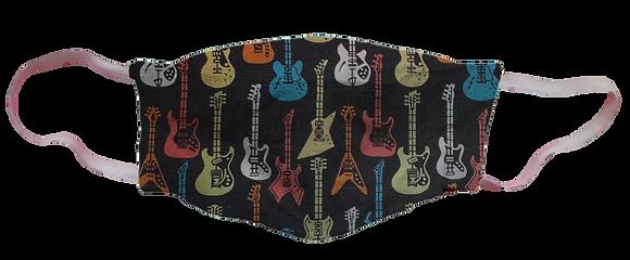 Máscara 3D - Guitarras