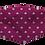 Thumbnail: Máscara 3D - Coração Rosa