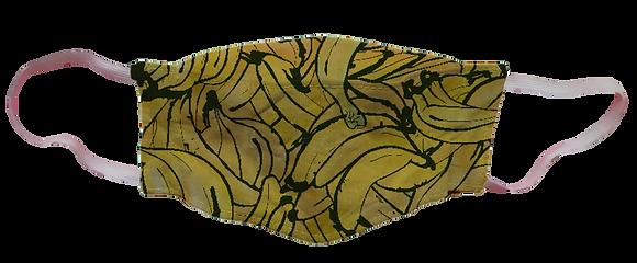Máscara 3D - Bananas
