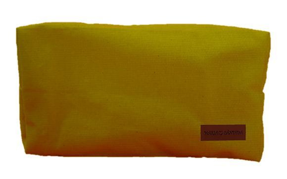 Necessaire Box - Amarelo