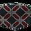 Thumbnail: Máscara 3D - Geométrico Vermelho