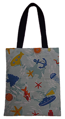 Bolsa Dupla Face - Fundo do Mar