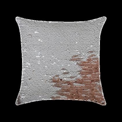 Capa de almofada Extravaganza - Branco / Dourado