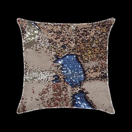 Capa de almofada Extravaganza - Dourado / Prata