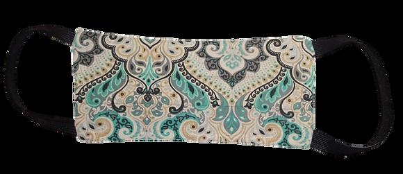 Máscara Cirúrgica - Arabesco Azul