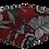 Thumbnail: Máscara 3D - Rosas Vermelhas
