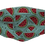 Thumbnail: Máscara 3D - Melancia Azul