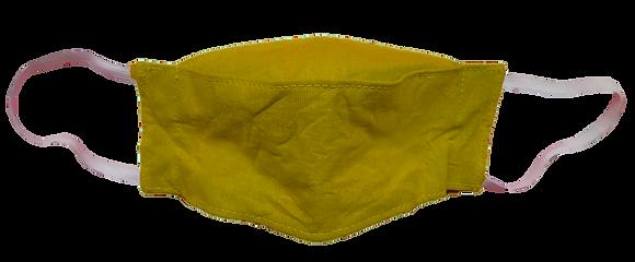 Máscara 3D - Amarelo