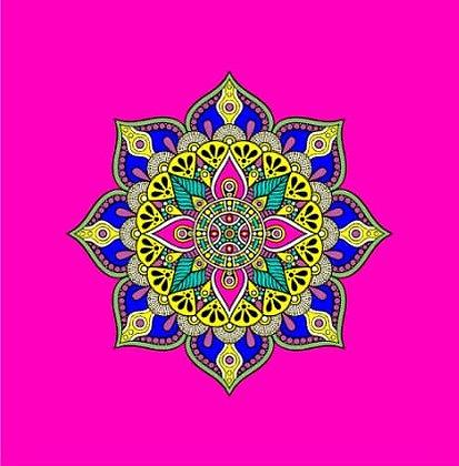 Bolsa Mandala - Rosa 2