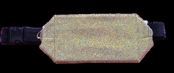 Pochete de Glitter - Dourada