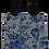 Thumbnail: Bolsa Dupla Face - Flores Azuis