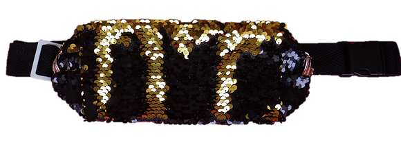 Pochete Extravaganza - Preto / Dourado
