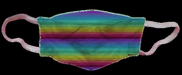 Máscara 3D - Arco Íris