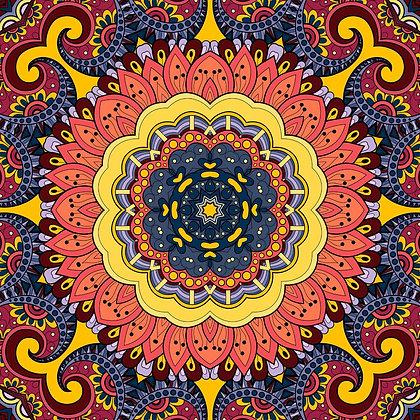 Bolsa Mandala - Marrom