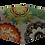 Thumbnail: Máscara 3D - Mandala Laranja