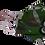 Thumbnail: Máscara 3D - Rosas Verdes