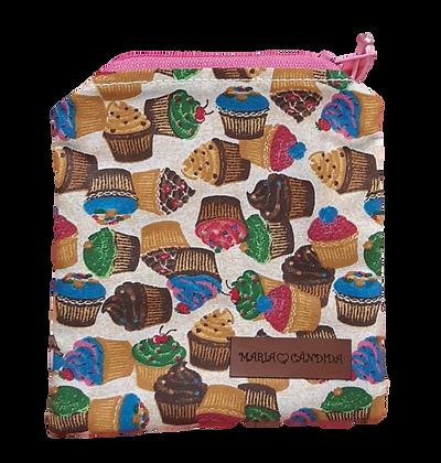 Porta Moedas Cupcakes