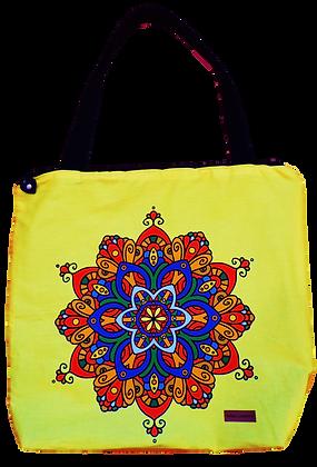Bolsa Mandala - Amarelo
