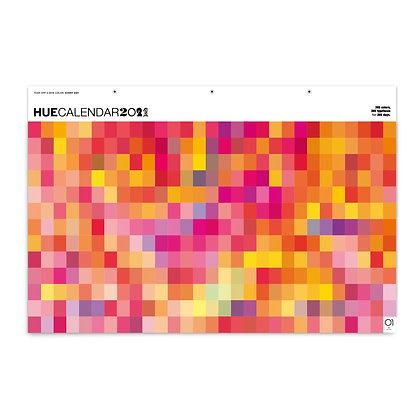 HueCalendar 2021 -  Pink