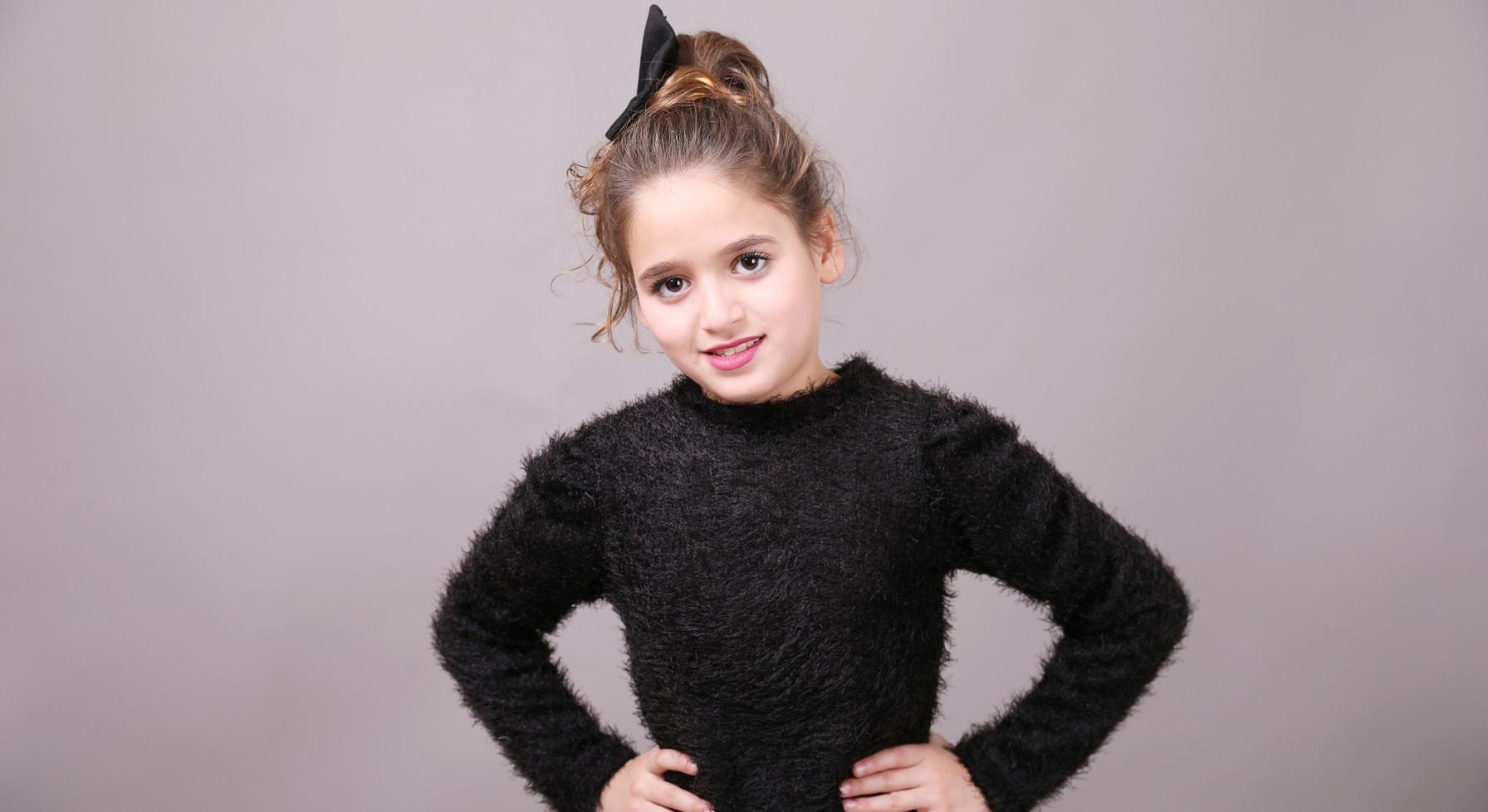 חולצה פרווה malaya   מאליה אופנת ילדים