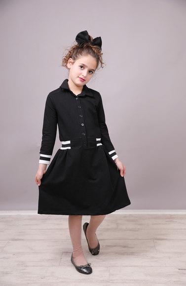 שמלה שחר malaya | מאליה אופנת ילדים