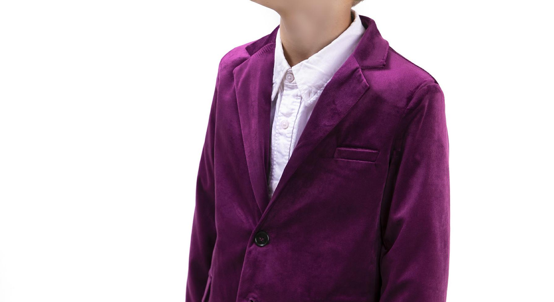 חליפה קטיפה malaya   מאליה אופנת ילדים