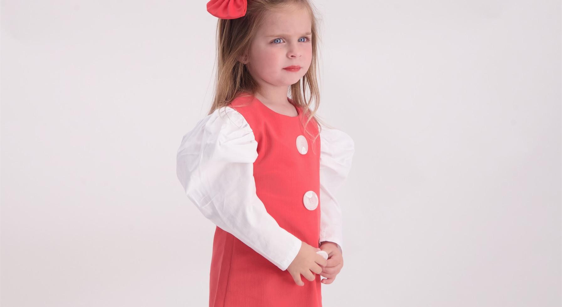 שמלה  נויה malaya   מאליה אופנת ילדים
